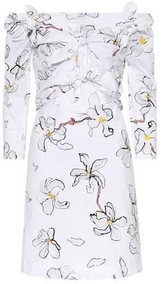 Isa Arfen Knot cotton minidress
