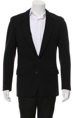Maison Margiela Wool Single-Button Blazer