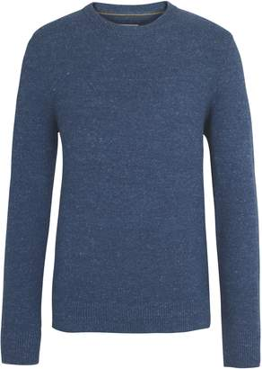 Men's Amble Textured Crew Jumper