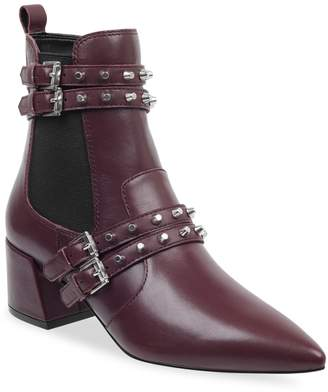 KENDALL + KYLIE Rad Studded Leather Booties