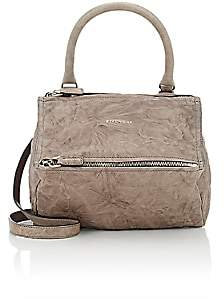 Givenchy Women's Pandora Pepe Small Leather Messenger Bag-Anthracite