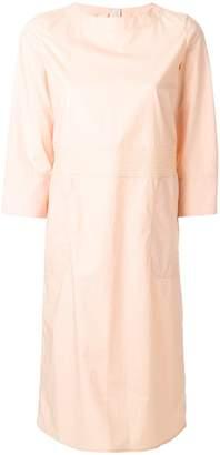 Marni pleated waist midi dress