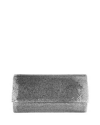 Judith Leiber Couture Manhattan Crystal Clutch Bag, Silver Chrome $1,995 thestylecure.com
