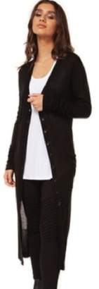 Democracy Button-Up Black Duster
