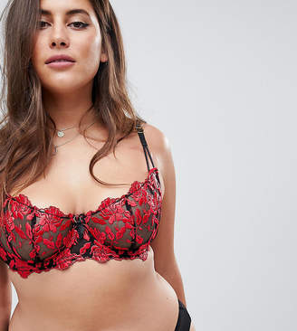 Ann Summers Cecile Non Padded Lace Bra