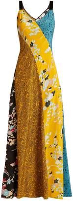 Diane von Furstenberg Calloway floral paisley-print silk maxi dress