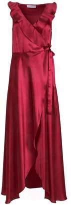 Roses Are Red - Doris Silk Dress in Fuchsia