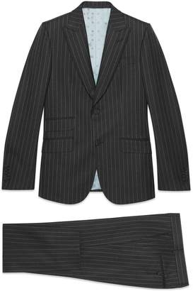 Gucci Heritage pinstripe wool suit