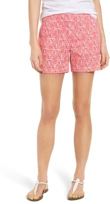 Women's Vineyard Vines Everyday Stretch Cotton Shorts $88 thestylecure.com