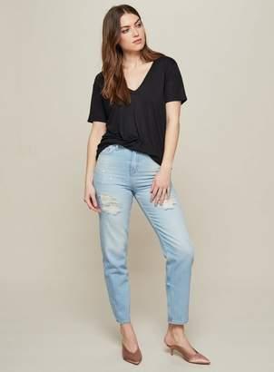 Miss Selfridge Boyfriend light blue jeans