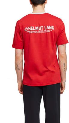 Helmut Lang Hong Kong Taxi T-Shirt