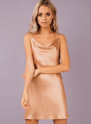 Betta Vanore Mini Dress Champagne