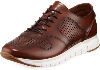 Kenneth Cole Men's Men's Perforated and Smooth Sneakers