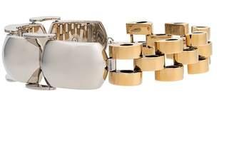 Marni chain link cuff necklace