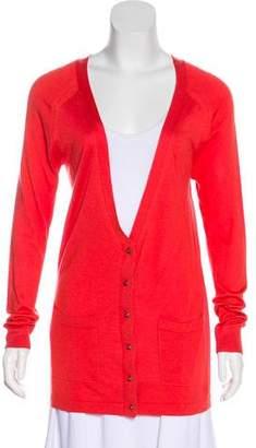 Balenciaga Long Sleeve Knit Cardigan