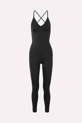 Norma Kamali Fara Open-back Stretch-jersey Jumpsuit