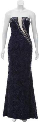 Jovani Embellished Lace Gown