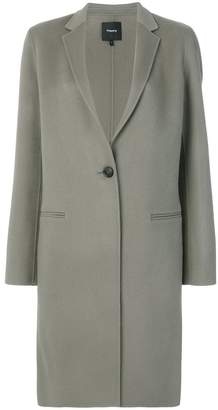 Theory double-faced essential coat