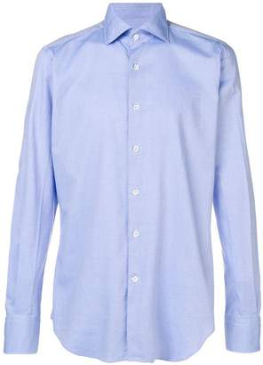 Glanshirt Oxford slim fit shirt