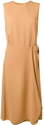 Victoria Beckham side buckle dress