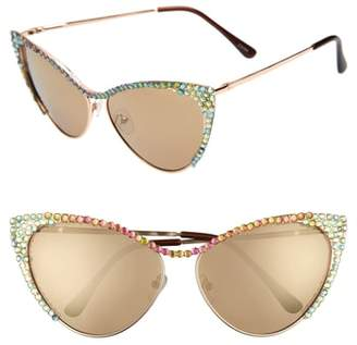 Cat Eye RAD AND REFINED Rad + Refined Crystal Sunglasses