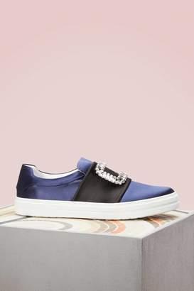 Roger Vivier Viv Strass Sneakers
