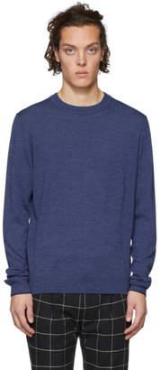 Paul Smith Blue Merino Sweater