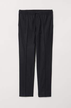 H&M Wool-blend Pants - Blue