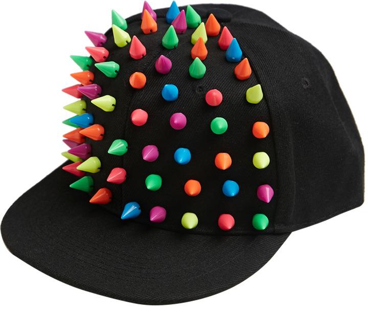 Wet Seal Happy Studded Baseball Hat
