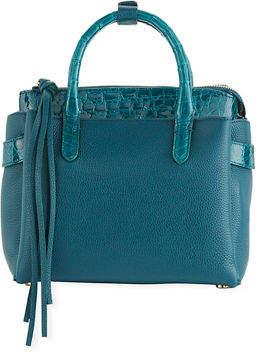 Nancy Gonzalez Cristy Mini Crocodile/Leather Tote Bag