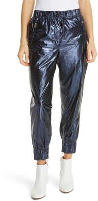 Robert Rodriguez Olympia Metallic Track Pants