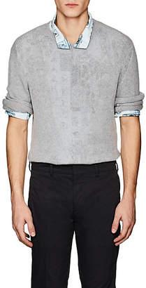 Prada Men's Cashmere Crewneck Sweater - Gray