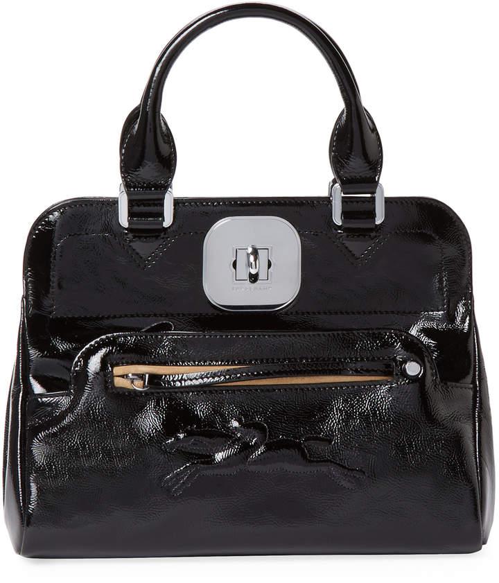 Longchamp Women's Gatsby Small Patent Leather Convertible Tote
