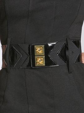 Diamond Pattern Stretch Belt