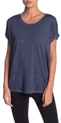 Andrew Marc Cool Wash Dolman Short Sleeve Tee