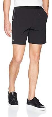 "Lacoste Men's Novak 7"" Stretch Woven Short"