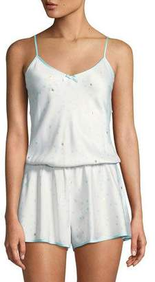 Kate Spade Dotted Satin Bridal Romper