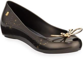 Melissa Shoes Ultragirl Elements PVC Bow Flats