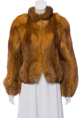 Neiman Marcus Fox Fur Jacket