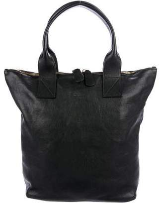Alexander McQueen North/South Leather Tote