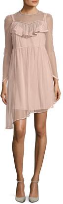 Manoush Dotted Mesh Lace Dress