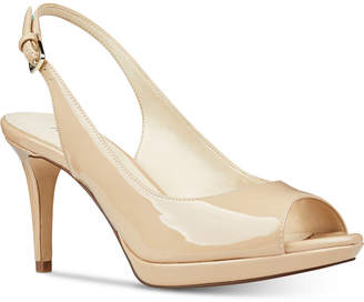 Nine West Gabrielle Slingback Platform Pumps Women Shoes
