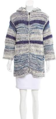 Isabel Marant Hooded Knit Cardigan