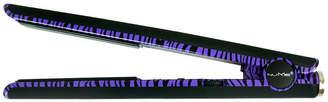 NuMe Ultra 100% Tourmaline Ceramic Flat Iron - Purple Zebra