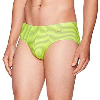 2xist Men's Printed Cotton Comfort Bikini Brief