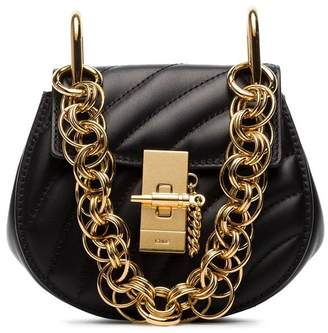 Chloé mini Drew Bijou quilted leather bag