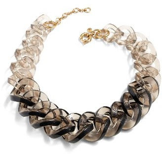 Women's J.crew Lucite Link Necklace $68 thestylecure.com