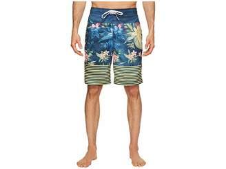 Speedo Aloha Stripe E-Boardshorts Men's Swimwear