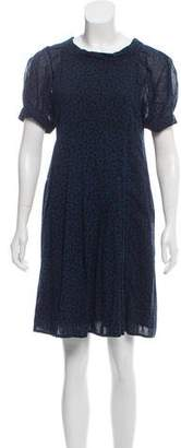 Marc by Marc Jacobs Wool Heart Patterned Dress