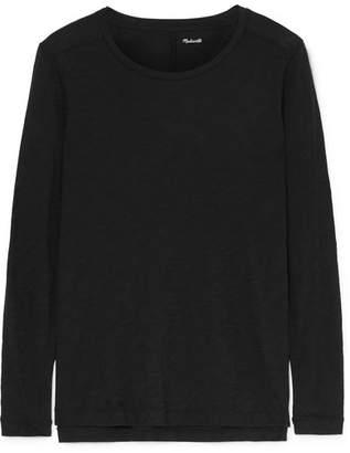 Madewell Whisper Slub Cotton-jersey Top